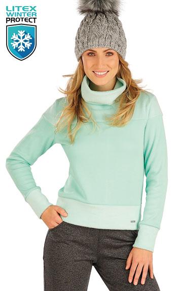 Sweatshirts, Hoodies > Damen Rollkragenpullover mit langen Ärmeln. 7A055