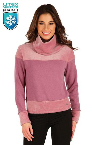 Sweatshirts, Hoodies > Damen Rollkragenpullover mit langen Ärmeln. 7A069