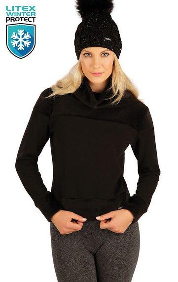 Sweatshirts, Hoodies > Damen Rollkragenpullover mit langen Ärmeln. 7A088