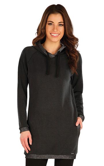 Sweatshirts, Hoodies > Damen Lange Sweatshirt mit Kapuzen. 7A115