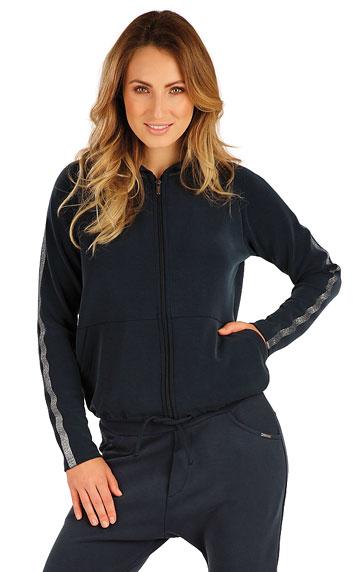 Sweatjacken, Jacken, Westen > Damen Sweatshirt mit Kapuzen. 7A125