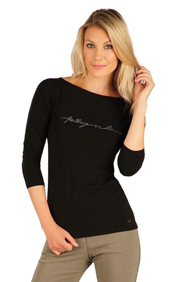 T-Shirts, Tops, Blusen > Damen T-Shirt, mit 3/4 Ärmeln. 7A152