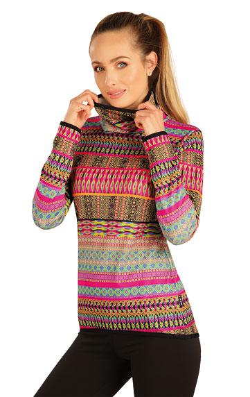 Sweatshirts, Hoodies > Damen Rollkragenpullover mit langen Ärmeln. 7A196