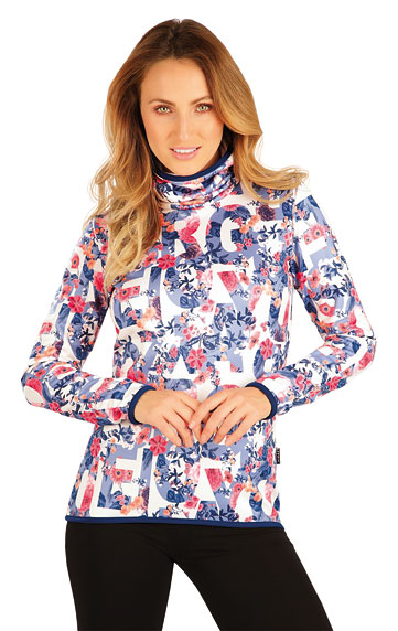 Sweatshirts, Hoodies > Damen Rollkragenpullover mit langen Ärmeln. 7A199