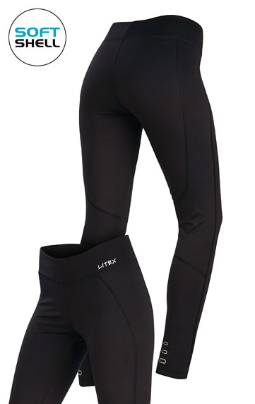 Lange Leggings > Damen Softshell Leggings, lang. 7A211