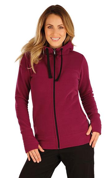 Sweatjacken, Jacken, Westen > Fleece Damen Sweatshirt mit Kapuzen. 7A279