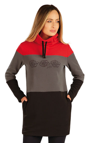 Sweatshirts, Hoodies > Fleece Damen Lange Sweatshirt. 7A283