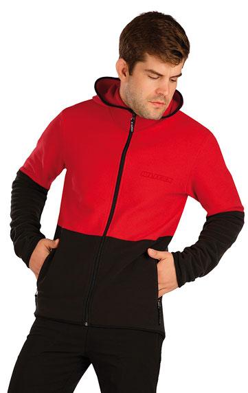 Sweatshirts, Jacken > Herren Fleece Sweatshirt mit Kapuzen. 7A284