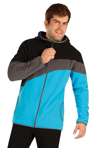 Sweatshirts, Jacken > Herren Fleece Sweatshirt mit Kapuzen. 7A287