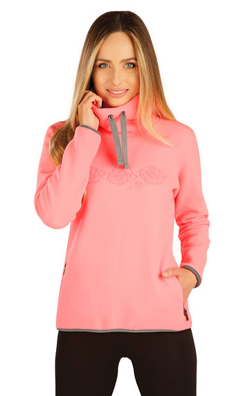 Fleece Damen Sweatshirt.