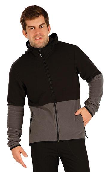 Sweatshirts, Jacken > Herren Fleece Sweatshirt mit Kapuzen. 7A294