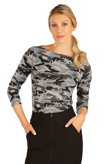 Damen T-Shirt, mit 3/4 Ärmeln.