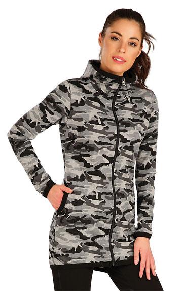 Westen und Jacken > Damen Sweatshirt mit Kapuzen. 7A333