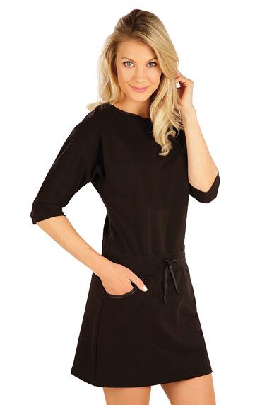 Kleider, Röcke, Tuniken > Damen Kleid mit 3/4 Ärmeln. 7A349