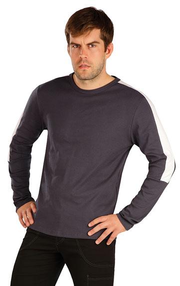 HERRENMODE > Herren T-Shirt mit langen Ärmeln. 7A368