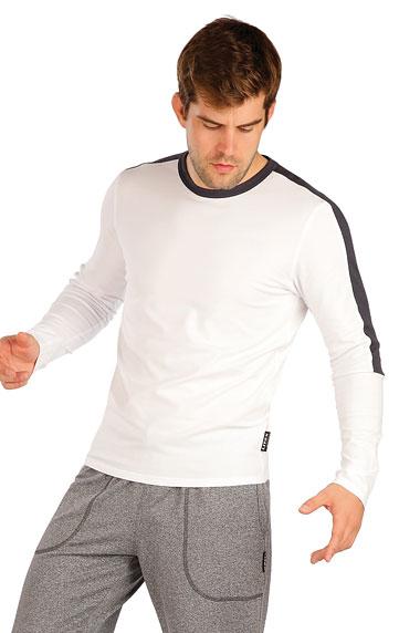 HERRENMODE > Herren T-Shirt mit langen Ärmeln. 7A370
