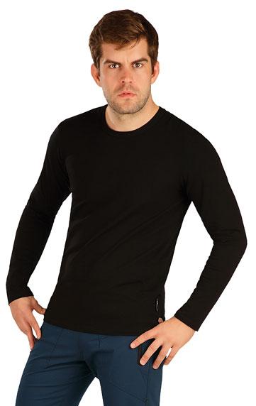 HERRENMODE > Herren T-Shirt mit langen Ärmeln. 7A376
