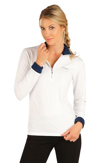 Tops, T-shirts, Sport Bhs > Damen T-Shirt mit langen Ärmeln. 7A440