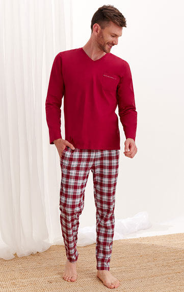 Nachtwäsche > Herren-Pyjamas. 7A523