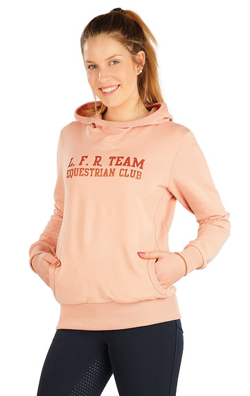 Jacken, Sweatshirts und Westen > Damen Sweatshirt mit Kapuzen. J1223