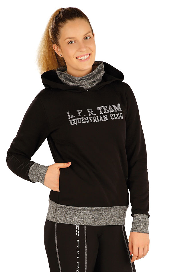 Damen Sweatshirt mit Kapuzen. J1232 | Hoodies, Westen, Rollkragenpullover LITEX