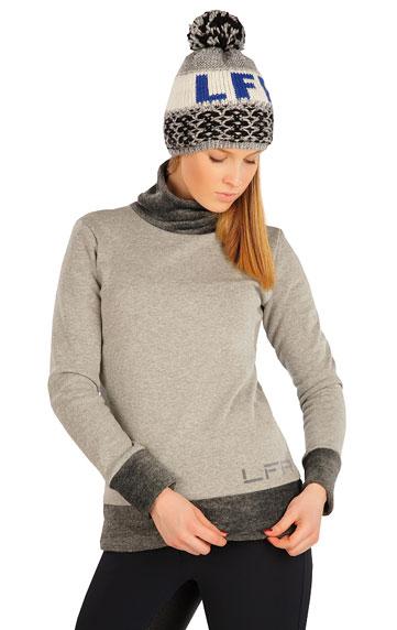 Jacken, Sweatshirts und Westen > Damen Rollkragenpullover mit langen Ärmeln. J1248