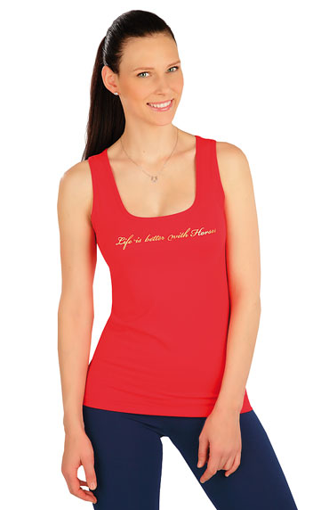 Reitbekleidung > Damen T-Shirt ohne Ärmel. J1253