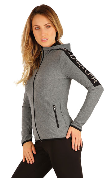 Jacken, Sweatshirts und Westen > Damen Sweatshirt mit Kapuzen. J1259