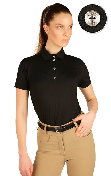 Damen Polo T-Shirt.