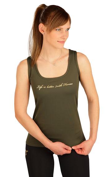 Damen T-Shirt ohne Ärmel.